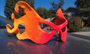 Fire Masquerade Mask by I-EAT-SOULS