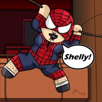 Spider-Randy by PhillieCheesie