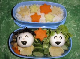 Tanabata bento by Flicksi