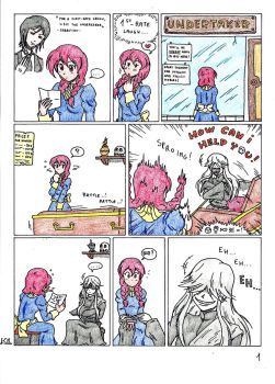 Gift - The lady and the laughtaker pag. 1 by KingNanamine87