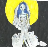 The Corpse Bride by karutimburtonfan