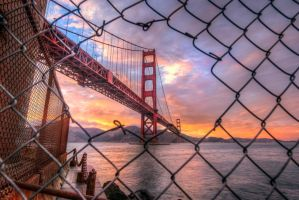 Golden Gate, Escape by alierturk
