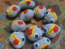 Rock Fact Keychains by Vulpes-Canis