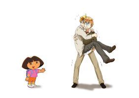 Americas weakness numer 238, Dora the explorer by Mely-Val