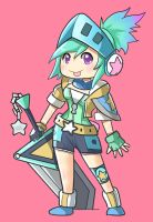 Arcade riven fanart by kiriney
