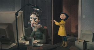 Coraline Harassed Dad by taty1410