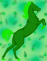 Horse of the earth (Taurus) by Spaik-The-Wolf