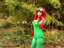 Poison Ivy cosplay by VelocipandaCosplay