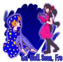 Gaia : Get Well Soon, Miss Fro by RozeUKun