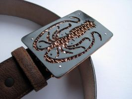 House Greyjoy Belt Buckle by kenshin1387