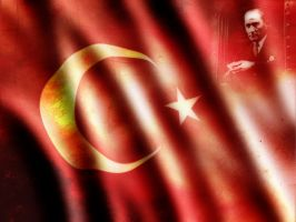 Ataturk - Turkish Flag by ataturk-gencligi