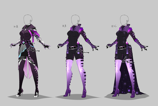 Outfit design - custom/gift by LotusLumino