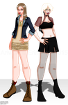 Lily Comparison by erin-hime