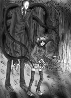 Slenderman is behind you by Lunna-World
