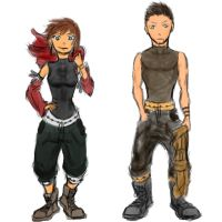 Charity and seth : concept clothing by Ghoopas