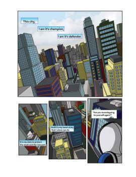 Spiderman Weaver Comic pg1 by KGH786