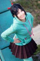 Vanellope - Wreck it Ralph by Lie-chee