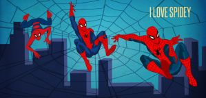 I Love Spidey by DESPOP