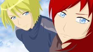 Minato+Kushina _major spoiler_ by maelstromb