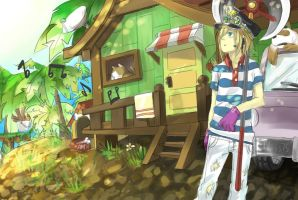 Maplestory: Kampung Village by KidCurious