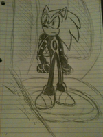 Sonic TRON by SteadfastHeartofGold