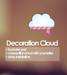 Decoration Cloud by Aquatutorials