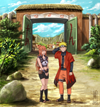 Naruto and Sasame by Jeannette11