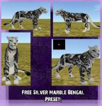 Free Silver Bengal Marble preset by Zophrenia