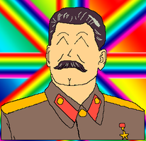 Rainbow Stalin by JettDX