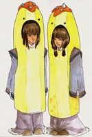 LOK - The Banana Guards Eska and Desna by borearisu