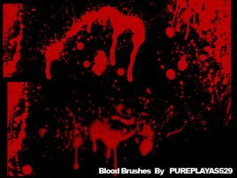 Blood Brushes by pureplayas529
