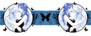 MUG - Blue Butterfly by Moemai