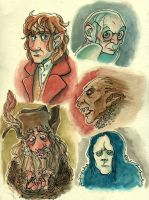 The Hobbit and LotR by mr-book-faced