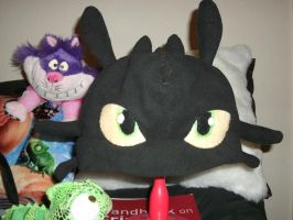 Toothless Hat by hoshi-kagami