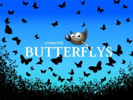 GIMP-Butterflys-Brush by Chrisdesign