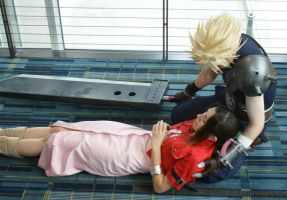 The death of Aerith by MrManson86