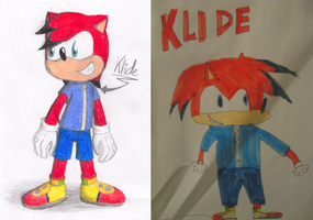 Klide, My First Sonic OC (2007-2014) by Anko6