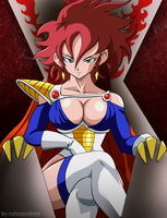 QUEEN SAIYAJIN by salvamakoto