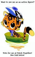 Lilypad Tiger Figure Design by Pocketowl