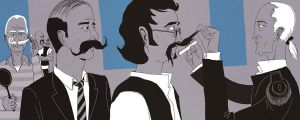 The Mustache Contest by zohar