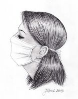 surgical mask study by jstreel
