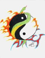 tattoo's_-_yingyang_fire by yukax-poison