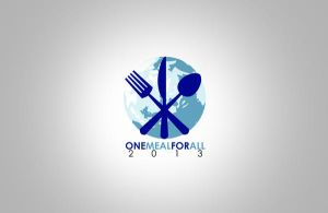 One Meal For All Logo Design by ShazaibDesigns