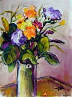 Freesia Still-Life by Art-deWhill
