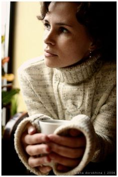 Coffee mood by another--woman