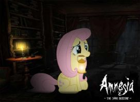 Amnesia the dark descent fluttershy by pewdiedash