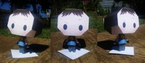 Captain Hammer Papercraft by Waldo-xp