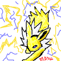 Jolteon by Ankoku-Flare