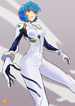 Monthly Fanart Voting: Ayanami Rei by Hatsuraikun