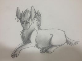 Whisper doodle by WolfStarr7